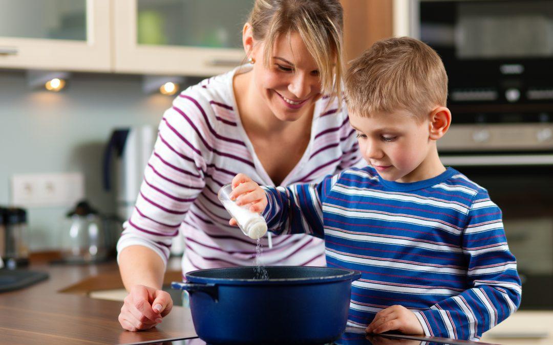 A importância das refeições em família