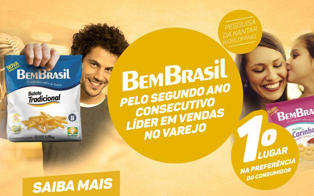 Liderança consolidada nos lares brasileiros é Bem Brasil
