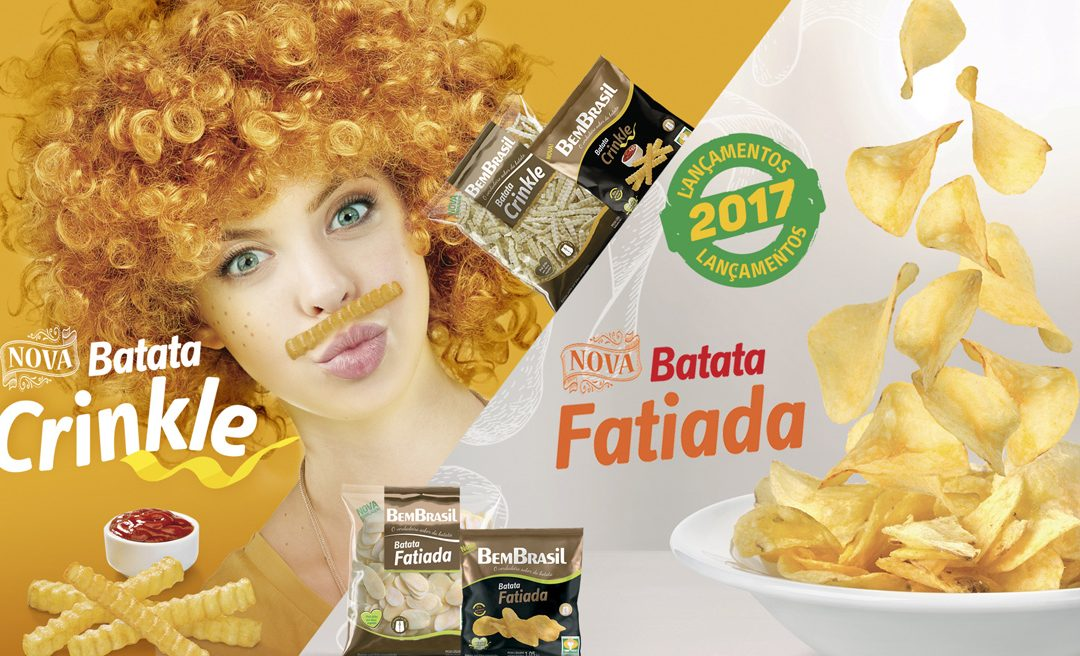 Bem Brasil lança novos produtos de batata no segundo semestre.