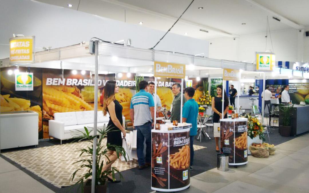 Bem Brasil participa de importante encontro do setor de Batatas,  em Holambra, SP.