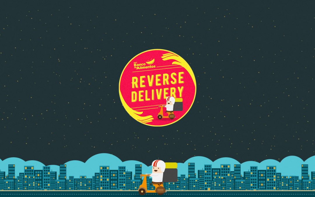 Delivery reverso surpreende pela sua obviedade.