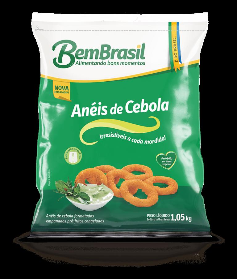 Produto Anéis de Cebola 1,05kg