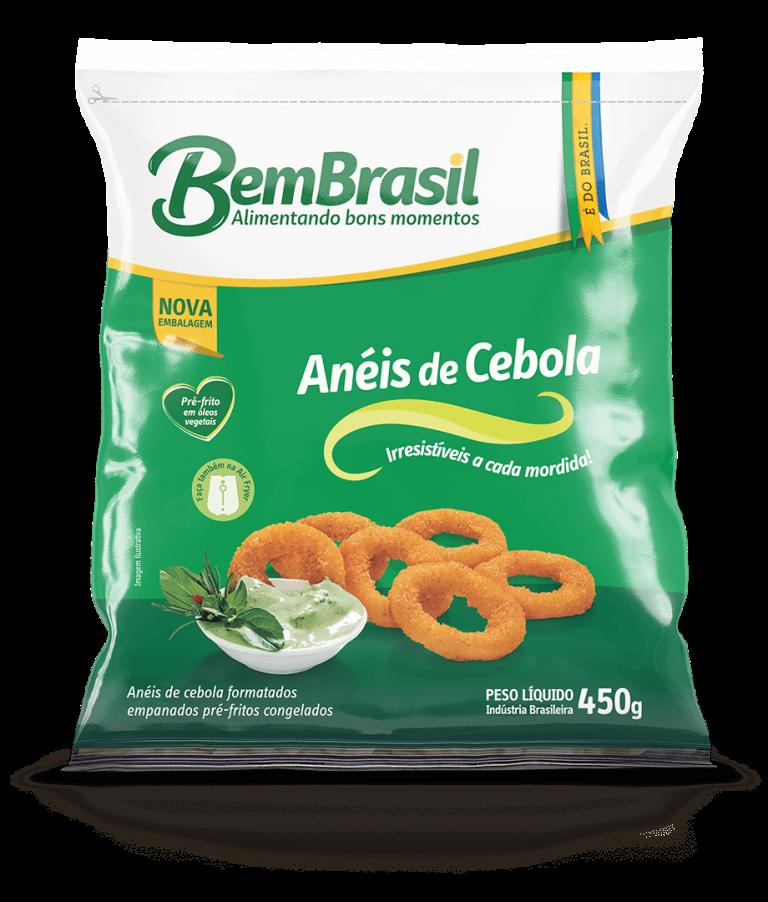 Produto Anéis de Cebola 450g