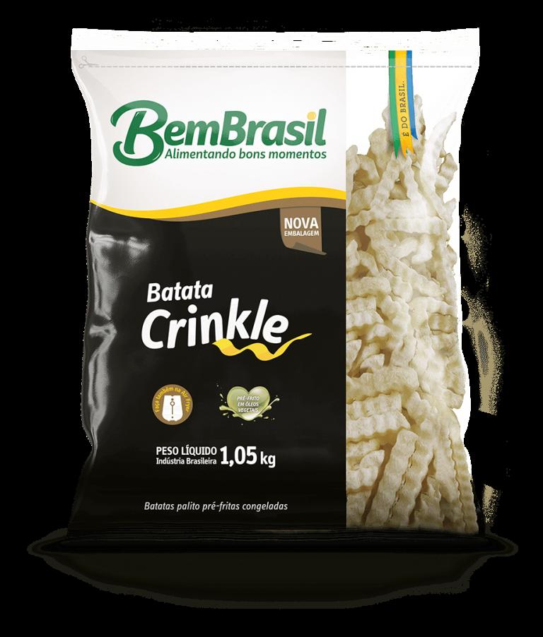 Produto Batata Crinkle 1,05kg