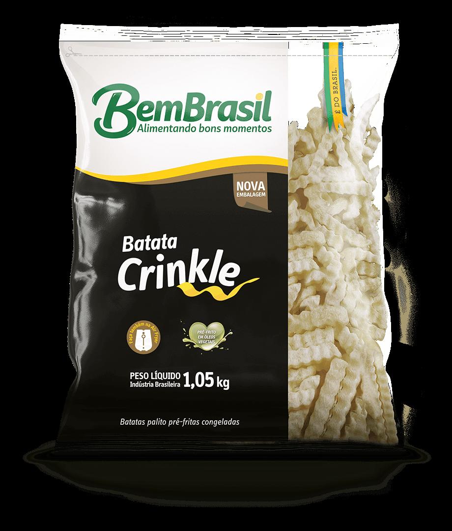 Batata Crinkle 1,05kg