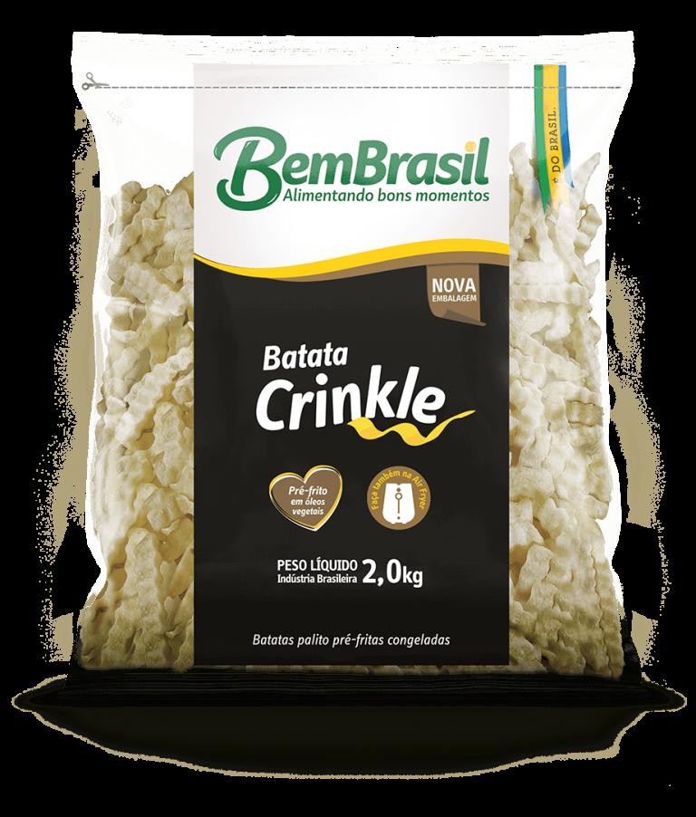 Produto Batata Crinkle 2,0kg