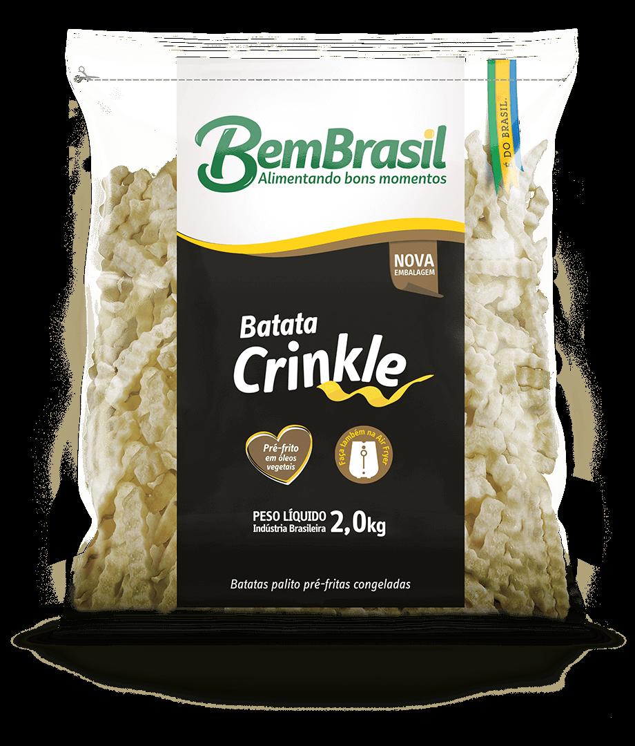 Batata Crinkle 2,0kg